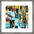 Who's Crazy Now? Framed Print