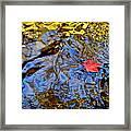 Wiggling Water Framed Print