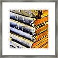 Wikipedia Origins Framed Print