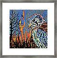Wildflire Framed Print