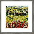Wildflower Jungle Framed Print
