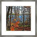 Willow Lake Framed Print by Bill Morgenstern