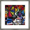 Wind Art Framed Print