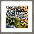 Wind Ripples Framed Print