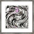 Winter Gestation Abstract Framed Print