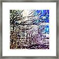 Winter Mosaic  Framed Print