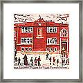 Winter Vacation Begins For Saint Pierre's School Framed Print