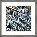 Winter Waterfall 2 Framed Print