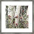 Winter Wood Jpg Framed Print