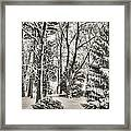 Winter Zauber 03 Framed Print