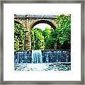 Wissahickon Falls Framed Print
