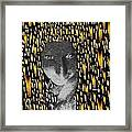 Woman In Flames Framed Print