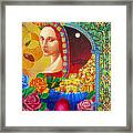Woman Of Jerusalem Framed Print