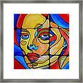 Women 450-09-13 Framed Print