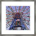 Wonder Wheel 2013 - Coney Island - Brooklyn - New York Framed Print