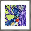 Wood Duck Tree Framed Print