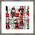 Wooden Soldiers Framed Print