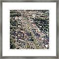 Woodward Avenue Michigan Framed Print