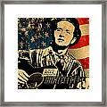 Woody Guthrie 1 Framed Print