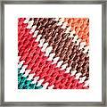Wool Knitwear Framed Print by Tom Gowanlock