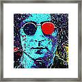 Working Class Hero II Framed Print by Chris Mackie