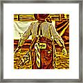 Wrangler Clown Framed Print