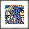 Xenon 2 Framed Print by Adriana Garces