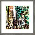 Yard Sale Antiques - Horizontal Framed Print