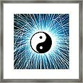 Yin Yang Framed Print by Tim Gainey