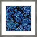 Yorbis Blue Framed Print