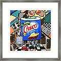 You Can't Pick Your Own Can Framed Print by Anthony Falbo