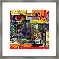 You Saw No Picture 5 Framed Print