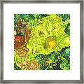Yupo Flower2 Framed Print