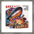 Zeppelin, Us Poster Art, Front Framed Print