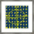 Zodiac Killer Code And Sign 20130213p68 Framed Print by Wingsdomain Art and Photography