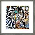 Zoo Animals 2 Framed Print