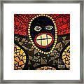 Zulu Man In Lomo Framed Print