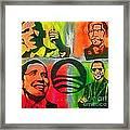 4 Barack  Framed Print