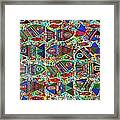 X 18 Talavera Fish Blessings Framed Print