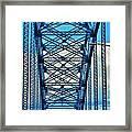007 Grand Island Bridge Series  Framed Print