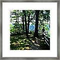 012b Niagara Gorge Trail Series  Framed Print