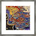 0615 Abstract Thought Framed Print