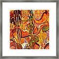 0625 Abstract Thought Framed Print