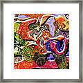 0627 Abstract Thought Framed Print