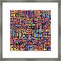 0649 Abstract Thought Framed Print