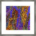 0666 Abstract Thought Framed Print