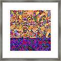 0672 Abstract Thought Framed Print