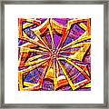 0692 Abstract Thought Framed Print