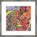 0693 Abstract Thought Framed Print