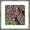 Against The Wall Framed Print